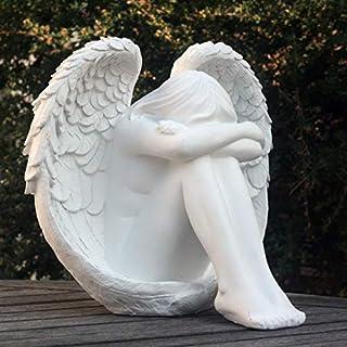 FHFY Garden Serenity Gartenfigur Engel ruhend