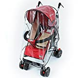 Universal Pushchair Stroller Buggy Rain Cover fits hundreds of models Bild 4