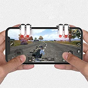 Mobile Game Controller shooting game handle mobile game aim tools game console grip holder Handgrip Game Triggers for Knives Out/Rules of Survival