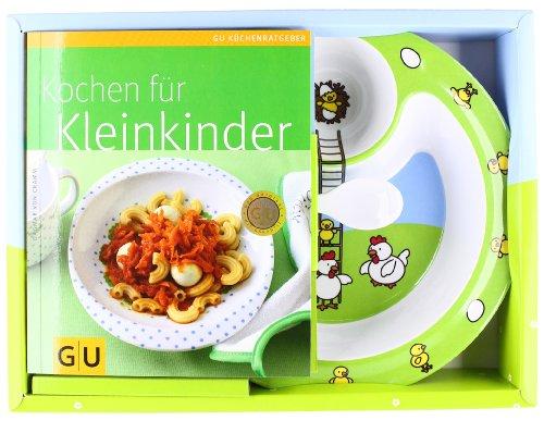 Preisvergleich Produktbild Set: Kochen für Kleinkinder: Plus Kindergeschirr von EMSA (GU BuchPlus)