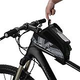 RockBros Fahrrad Rahmentaschen Wasserfeste Taschen Für Bild Schirm 5.8''/6.0'' (Grau, 6.0 Zoll)