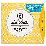 Lil-lets Silk Comfort Tampons applicateur compact réguliers (16) (Lot de 2)
