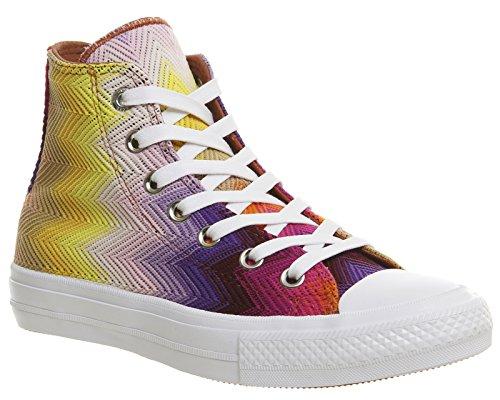 681290a2d12d Converse Chuck Taylor all Star II High Missoni Donna Sneaker Multicolore