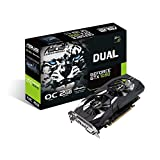 ASUS GeForce GTX 1050 OC edition GeForce GTX 1050 2GB GDDR5 - Tarjeta gráfica (GeForce GTX 1050, 2 GB, GDDR5, 128 bit, 7680 x 4320 Pixeles, PCI Express 3.0)