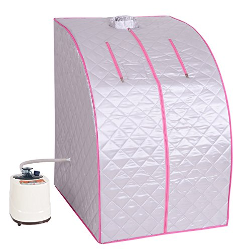 COSTWAY Steam Sauna, Portable 2L...