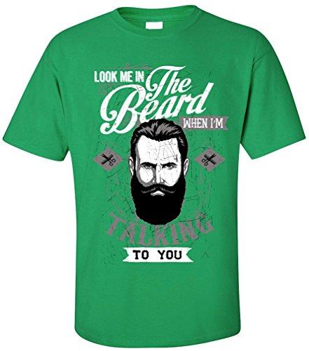 PAPAYANA Beard - Herren T-Shirt - Hipster For Men Shave Grün