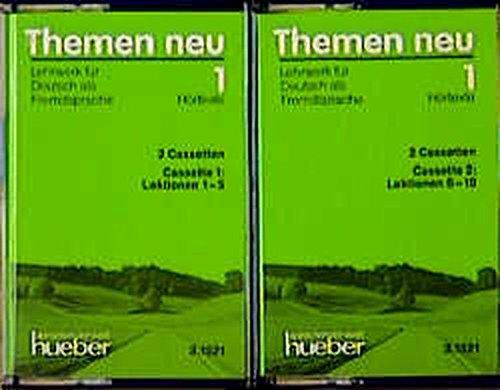 Themen neu 1, Hörtexte zu Band 1, Cassette mit 5 Lektionen: Hortexte