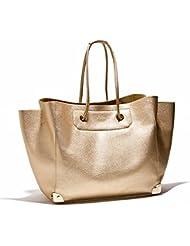 las Mujeres de moda Flujo de damas paquete grande paquete de gran capacidad Simple Retro Oro