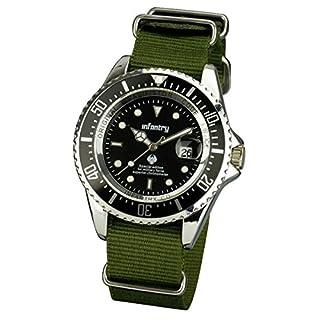 Infantry IN-019-S-GN-Wrist Watch, Black Nylon Strap (B00A65JOBK) | Amazon price tracker / tracking, Amazon price history charts, Amazon price watches, Amazon price drop alerts