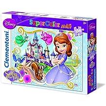 Clementoni 23651 - Puzzle SuperColor Maxi Sofia The First Ready To Be a Princess, 104 Pezzi