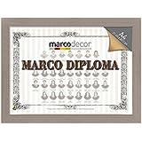 Marco para diploma A4 color gris piedra