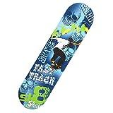 JBD Skateboard - 31'x 8' Complete Pro Skateboard - Double Kick 7 Layer Canadian Maple Wood Trucos para Adultos Tabla de Skate para Principiantes, Regalo de cumpleaños, 5