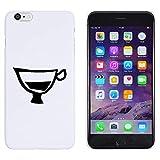 Azeeda Bianca 'Tazza di caffè Espresso' Custodia / Cover per iPhone 6 Plus & 6s Plus (MC00137322)