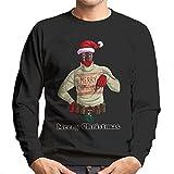 TeeTrumpet Deadpool Merry Christmas Mistletoe Crotch Men's Sweatshirt