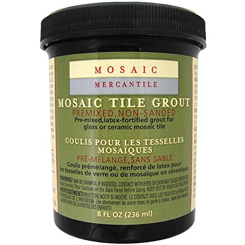 Mosaic Mercantile Grout Tile 8 oz Black
