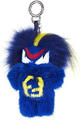Fendi charm de bolso mujerbug-kun fendirumi blu
