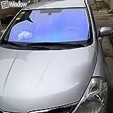 Hoho ombra 25% 60% auto parabrezza auto Solar tinta anteriore della finestra laterale Glass film foglio 50,8x 152,4cm