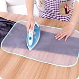 SMILE Protective Nylon Mesh Ironing Cloth Iron Delicate Garment Clothes Guard Press Protection Pad Insulation Mat Home Ironing