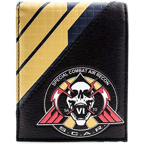 Call of Duty Unendlichen Warfare Air Recon Scar Schwarz Portemonnaie Geldbörse