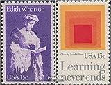 Prophila Collection USA 1439,1440 (kompl.Ausg.) 1980 Edith Wharton, Erziehung (Briefmarken für Sammler)