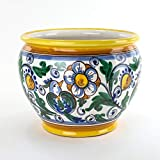 Portavaso Cachepot in Ceramica di Caltagirone Fatto a Mano, ceramiche...