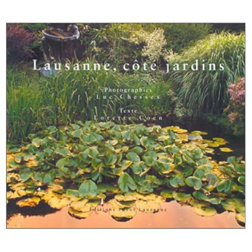 Lausanne, côté jardins