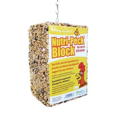 Tusk - Bloc d'alimentation pour poules (1,4 kg)...