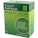 Regenerations-Rasen von EXPONA Profi Rasen - Rasensaat zur Auffrischung für 100m² zur Einsaat und Nachsaat - RSM 3.2 - schnelle Keimung - dichter und saftiger Rasen