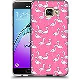 Officiel Charlotte Winter Flamant Rose Modèles Animaux Étui Coque en Gel molle pour Samsung Galaxy A3 (2016)