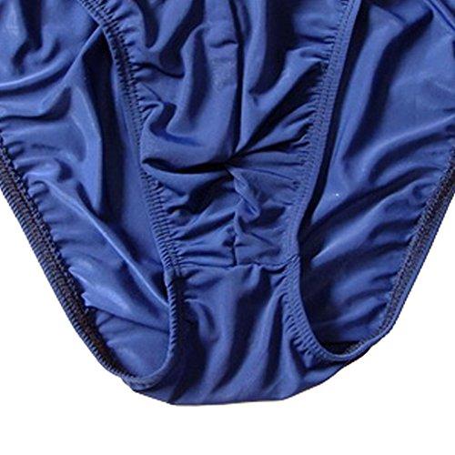 XinGe Herren Slips Thong Tanga Sexy String Unterwäsche Dark Blue