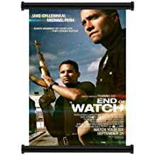 Final de reloj (2012) Jake Gyllenhaal tela película Wall Scroll Poster (16'X21')