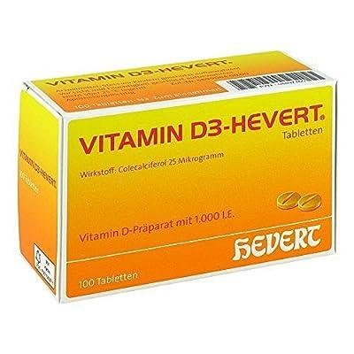 VITAMIN D 3-HEVERT Tabletten, 100 St