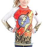 DC Comics Kinder Fla003 Fusion Fight Gear The Flash Crimson Comet Rash Guard XXL Mehrfarbig