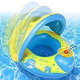 Peradix Flotador para bebés 6meses-3 Años Barco Inflable Flotador con Asiento...