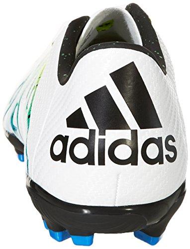adidas Herren X 15.3 Ag Fußballschuhe, Bunt Weiß / Schwarz / Grün (Ftwbla / Negbas / Seliso)