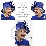 TWISTED ENVY feiert Queen Elizabeth II zum 90. Geburtstag Keramik Neuheit Geschenk Tasse