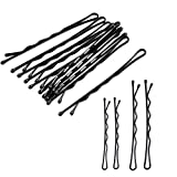 250 Pieces 2 Sizes Hair Pins for women, Black hair Grips Clip(200pcs with1.96 inch,50pcs with 2.36inch) - Ideal for all hair types and all types of hair styles ...