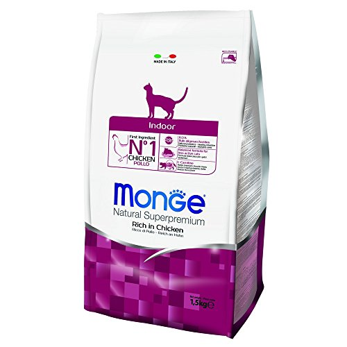 Monge Natural SUPERPREMIUM Cat Indoor Alimenti Gatto Secco Premium