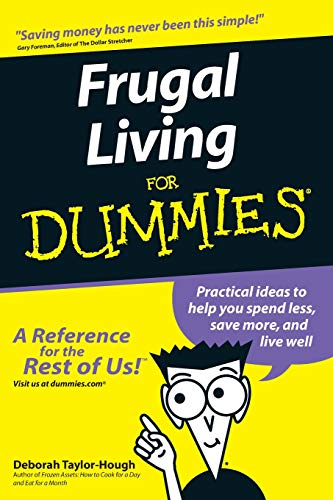 Frugal Living for Dummies (For Dummies Series) (Stretcher Dollar)