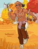 Indianer-Malbuch 1 - Nick Snels