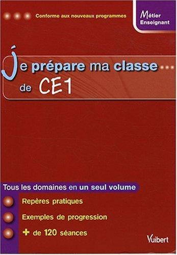 Je prépare ma classe de CE1