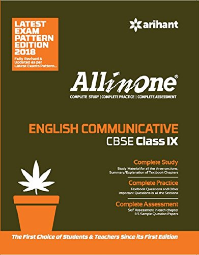 All in One ENGLISH COMMUNICATIVE CBSE Class 9th