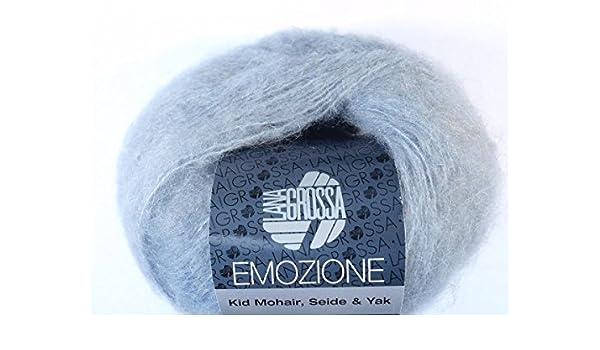 dba59f50664ce Lana Grossa Emozione 013 Smoky Grey 25g  Amazon.co.uk  Kitchen   Home