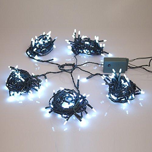 Dmail - ghirlanda 220 luci metti-facile per albero di natale