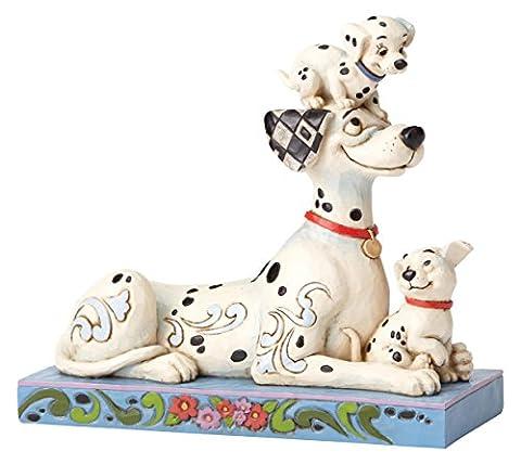 Enesco - 4054278 - Disney Trad -Les 101 Dalmatiens- Le Père et Deux Chiots
