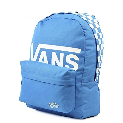 Imagen de vans sporty realm backpack , 42cm, 22l, french azul checker alternativa