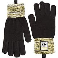 Puma Minions Gloves, Unisex niños, Black, XXS