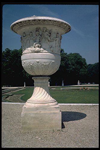 Versailles Urn (346093 Large Empty Urn Versailles France A4 Photo Poster Print 10x8)