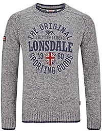 Lonsdale Mens Sweater Borden