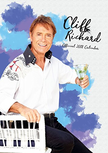 Cliff Richard Official 2018 Calendar - A3 Poster Format